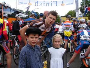 met schaatser en wielrenner Sven Kramer