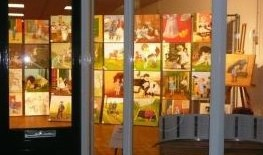 De Teken- en Schildergroep Roden heeft zeer actief bijgedragen aan het Ot en Sien jaar. Ze schilderden verschillende jubileumtaartjes, portretten van de 3 heren, 48 50x50 doeken met Ot en Sien afbeeldingen, de Winsinghhof met het beeldje ervoor en ze maakten een prachtige mozaïek van de 2, dansend in de plas. Gedurende het jaar werden de schilderijen op verschillende plekken geëxposeerd.